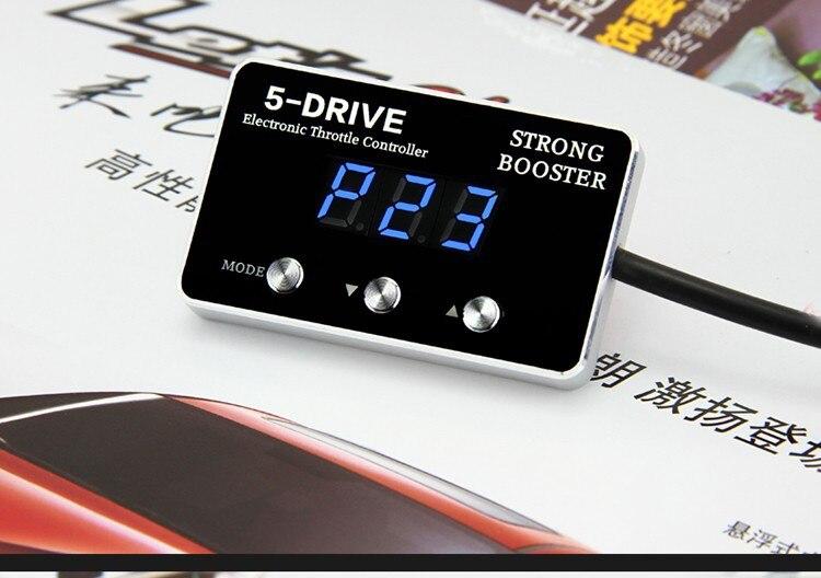 Voiture accélérateur contrôleur Sprint Booster mode bouton commutateur intelligent plus puissance pour Ford Focus Mazda 3 5 Mondeo S-MAX Ecosport