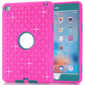 For Apple Pad Mini 4 Hybrid Combo Hard PC Soft Silicone Armor Phone Case Cover with Spot Diamond