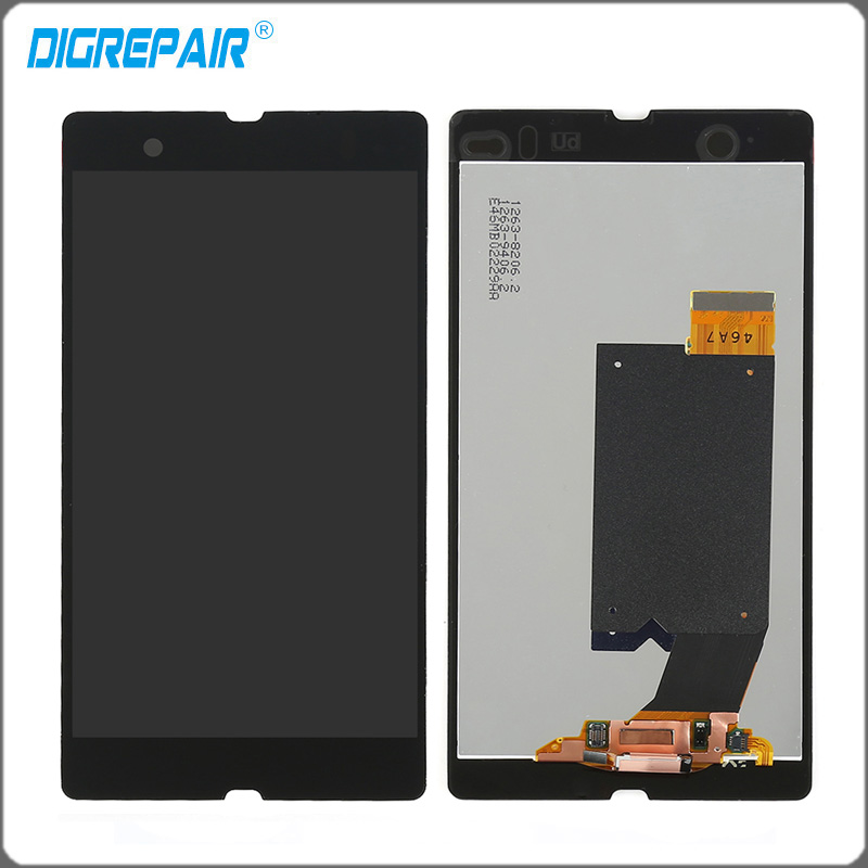 "imágenes para 5 ""pulgadas Negro Para Sony Xperia Z L36h L36i C6606 C6603 C6602 c6601 C660x Pantalla LCD Touch Screen Reemplazo Digitalizador Asamblea"