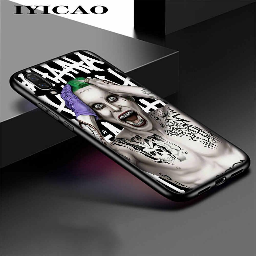 IYICAO клоун, Бэтмен Джокер мягкая накладка на заднюю панель для huawei 6A 7A 8X8 Lite рro 7 3g 7C 5.99in Nova 4 3 3i 2i 8C 9 10 Lite чехол