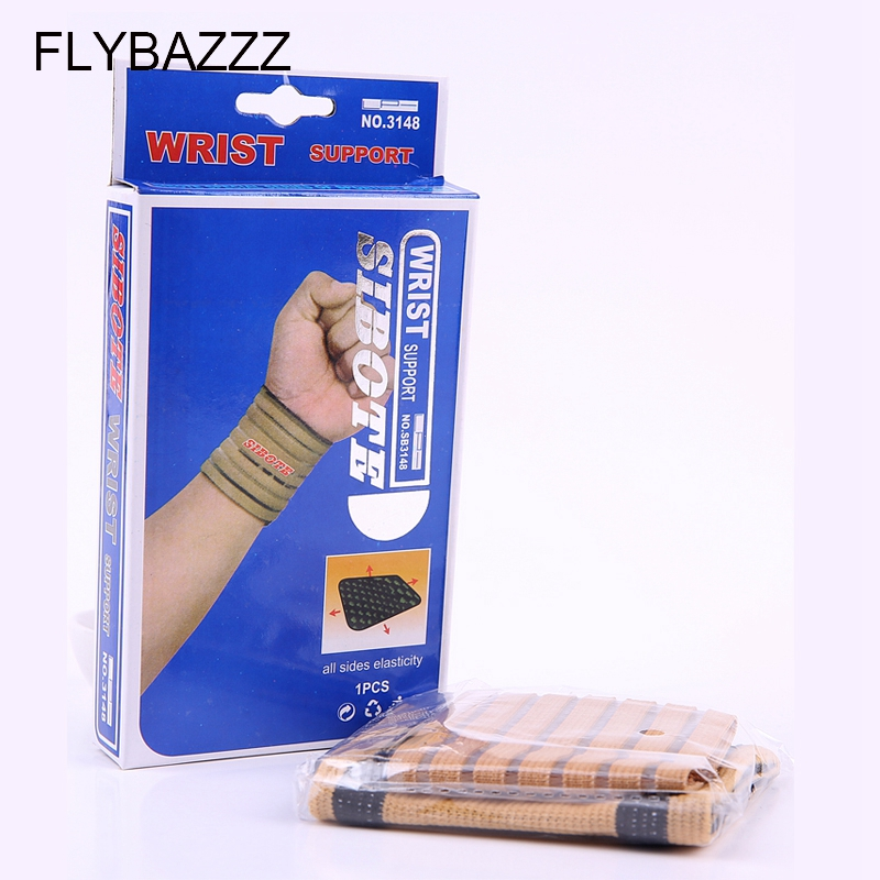 FLYBAZZZ Professional Sports Equipment Basketball Volleyball Fitness Gym Wrist Bandages Pad Wristband hand Support free shipping (5)
