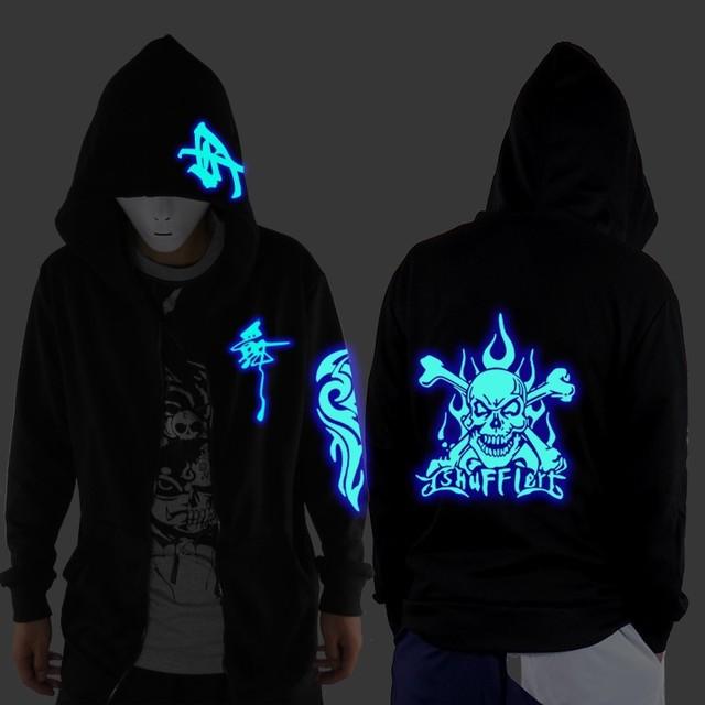 Ghost Step Dance Hoodie Fluorescence