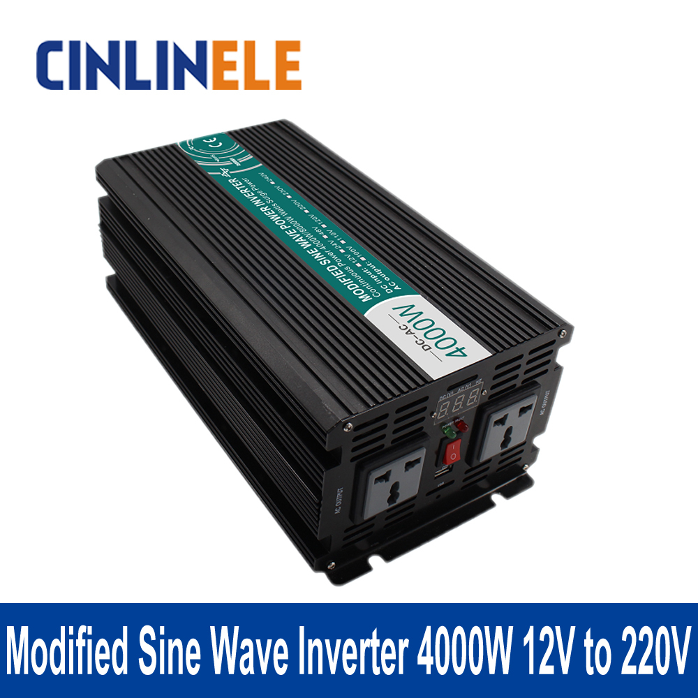 Modified Sine Wave Inverter 4000W CLM4000A-122 DC 12V to AC 220V 4000W Surge Power 8000W Power Inverter 12V 220V