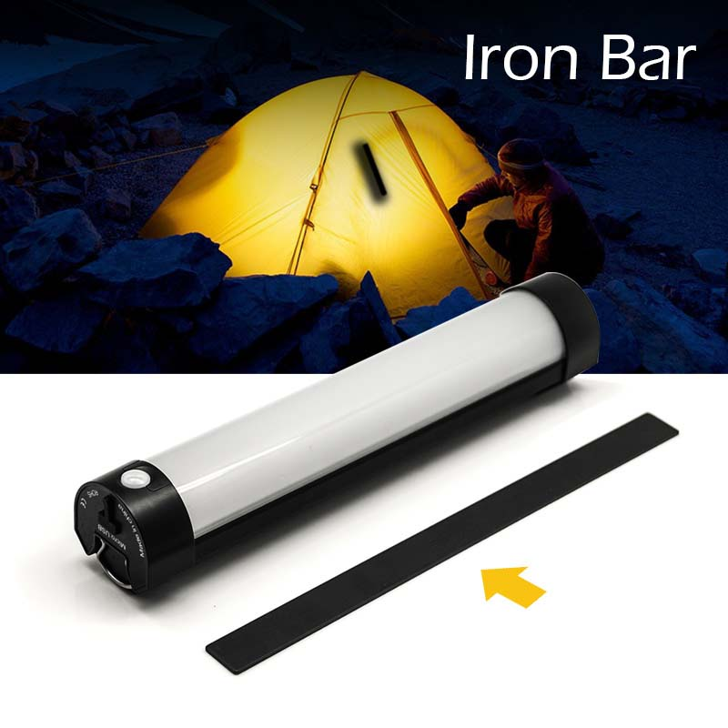 IR Remote Control Camping Light USB Rechargeable Portable LED Tent Light Strong Magnetic Camping Lantern Fishing Bivvy Light