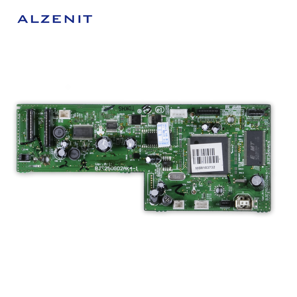 ALZENIT For Epson L200 L201 Original Used Formatter Board  Printer Parts On Sale brand new inkjet printer spare parts konica 512 head board carriage board for sale