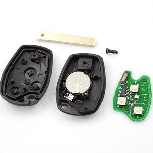 Image 5 - OkeyTech 433MHz ID46 PCF7947 Chip di 3 Auto Tasto Chiave A Distanza Fob Per Renault/Kangoo II/Clio III auto pezzi di Ricambio Keyless Allarme