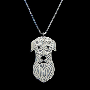 New Unique Romantic Gold Silver Color Irish Wolfhound Pendant Necklace Hunger Games Necklace Women Best Friend Choker image