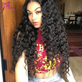 Malaysian Virgin Hair 4*4 Silk Base Deep Wave Full Lace Wigs For Black Women Silk Top Lace Front Human Hair Wigs 150 Denisty