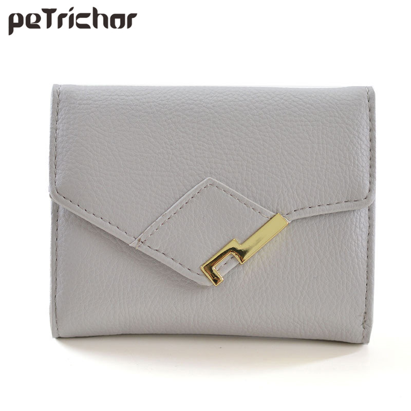 New Fashion Hasp Wallet Women Brand Small Purse Female Short Brand Design PU Leather Ladies Credit Card Wallets Coin Pocket casual weaving design card holder handbag hasp wallet for women