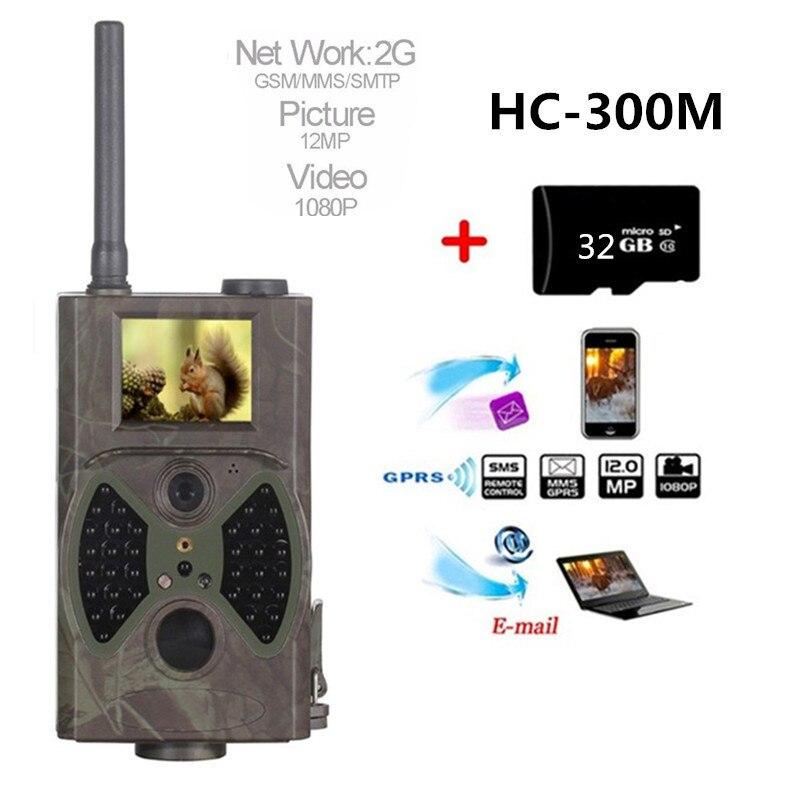HC-300M Caccia Macchina Fotografica della Traccia di HC-300M Full HD 12MP 1080 P Video di Visione Notturna MMS GPRS Scouting A Raggi Infrarossi Gioco CacciatoreHC-300M Caccia Macchina Fotografica della Traccia di HC-300M Full HD 12MP 1080 P Video di Visione Notturna MMS GPRS Scouting A Raggi Infrarossi Gioco Cacciatore