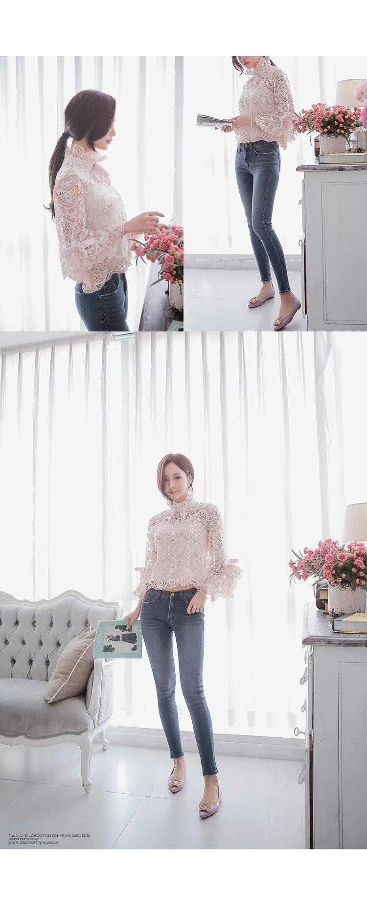 Feminina delle Camicette nuove dell'Hamaliel coreane più 2018 donne Pink Summer OgwPxdqP