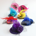 Small Mini Top Hat 5cm in Diameter Girls Hair Accessories For Children Hair Pins Hair Clips Free Shipping MFF05-002