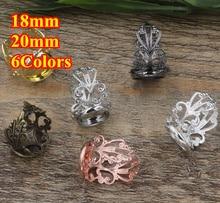 100pcs Cabochon 18mm,20mm Round Pad ring blank Cameo Tray,Bronze/Gold/Silver Ring setting,Handmade DIY Zakka jewelry Finding