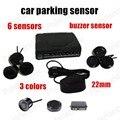 Buzzer Car Parking Sensor Alarm Without display Original 22mm Sensor 3 colors Auto Parking System reversing radar