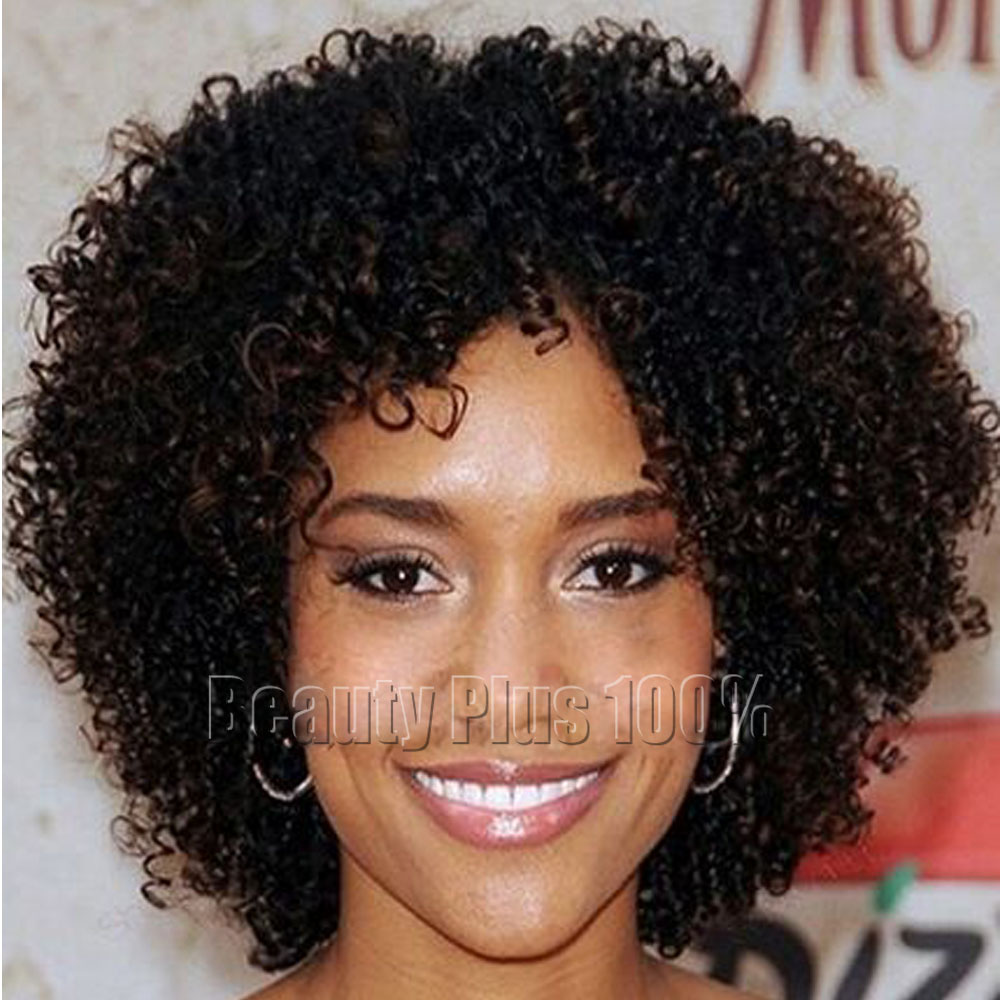 Short Afro Hairstyles Weave Curly