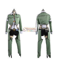 DJ DESIGN Sword Art Online II SAO Phantom Bullet Shino Asada/Sinon Uniform Cosplay Costume