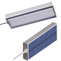Super Bright Solar Sensor 48 LED Lamp 800LM Highlight Waterproof Outdoor Security Wall Light By Microwave Radar Motion