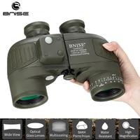 Military Binoculars Rangefinder 10x50 Telescope Hunting Durbun Waterproof Professional with Harness Strap Tripod Connector BNISE