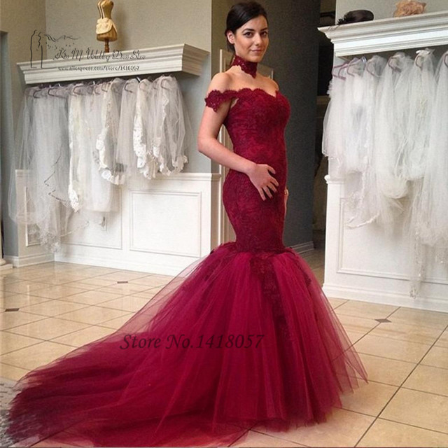 Red sexy wedding dresses