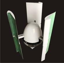 Vertikale hoch effiziente 600 Watt windgenerator turbine