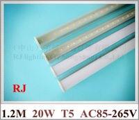 Integrated LED Tube Light Lamp T5 LED Fluorescent Tube Lamp 1200mm SMD2835 96led 20W 25lm Led