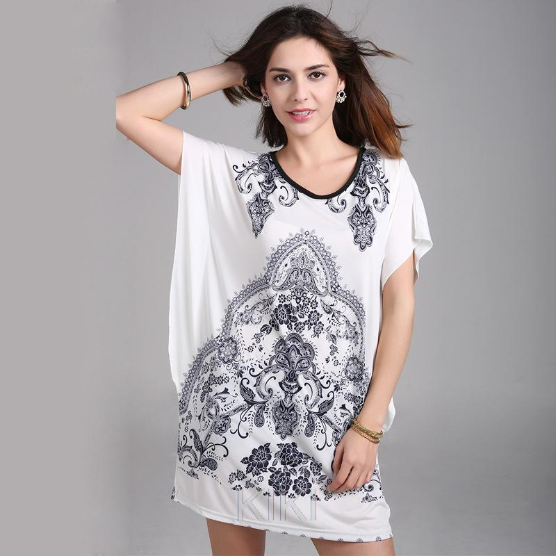 plus size 2016 new summer autumn casual tunic dresses ...