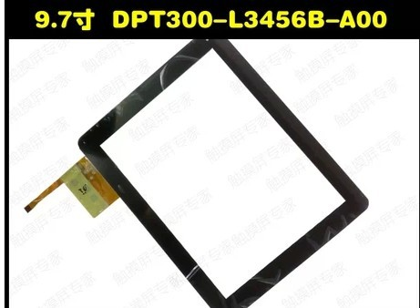 (Ref:300-L3456B-A00_VER1.0) 3pcs/lot 9.7inch LCD touch screen digitizer touch panel glass for Flytouch H08S Tablet