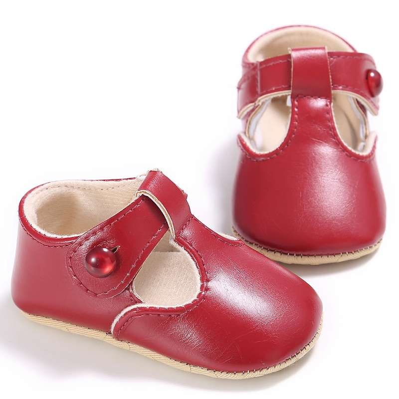5 Colors Brand Spring Baby Shoes PU Leat