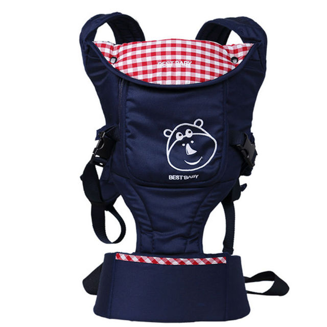 Hot Sale Cotton Baby Carrier High Quality Ergonomic Comfort Multifunctional Adjustable Sling NH1007