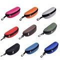 9 Cores Dos Óculos De Sol Óculos de Leitura Caso Carry Bag Caixa Zipper Duro Pacote de Viagem Bolsa Nova