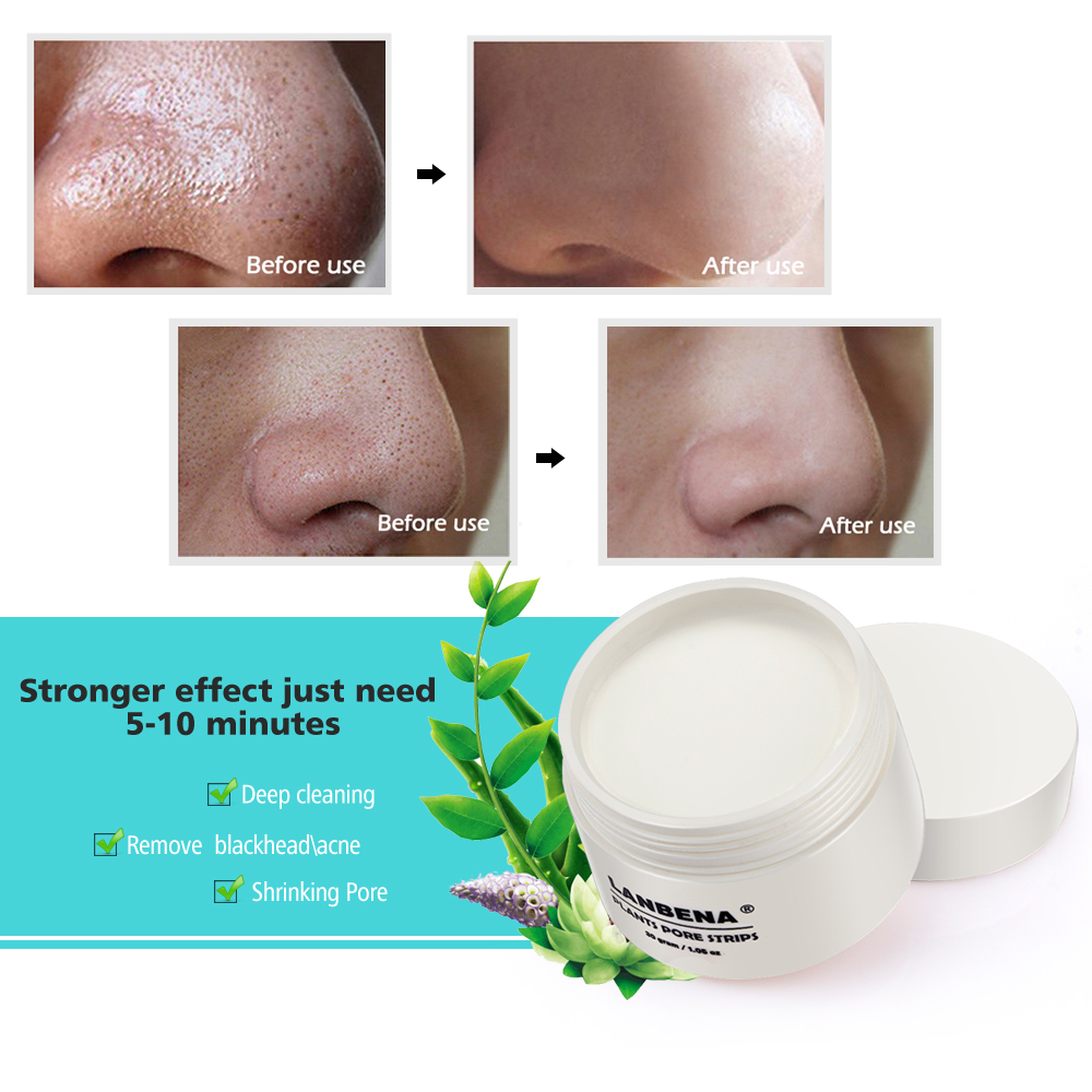 Blackhead Removal Peel Off Mask Nose Pore Strip Deep Cleansing Whitehead Extractor Peeling Mask Acne Treatment T Zone Skin Care (7)