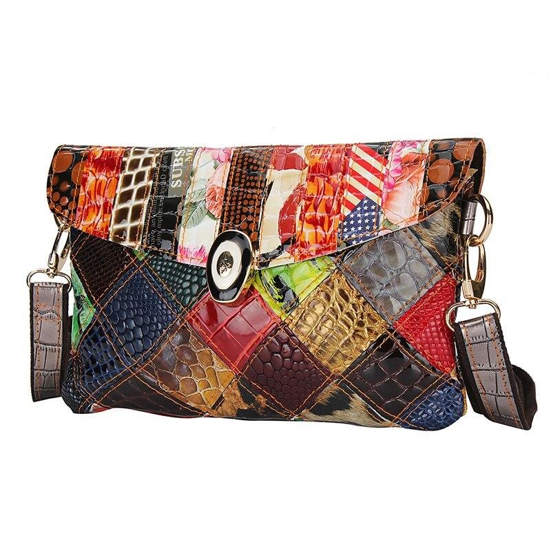 senhora patchwork ferrolho bolsa de Tipo de Bolsa : Bolsas Mensageiro