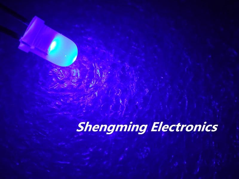 1000pcs F3 3mm Green Round Superbright LED Light LED fog mist diffused