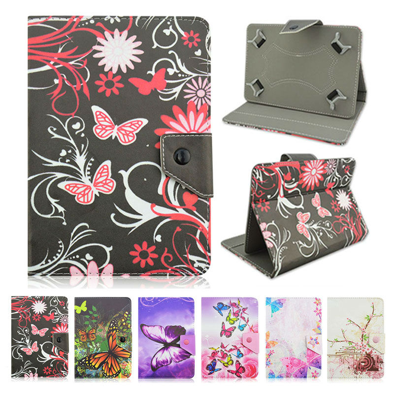 Butterfly PU Leather case Cover For Lenovo Tab 2 A10 30 10 1 inchfunda tablet 10