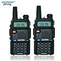 2 ШТ. BaoFeng УФ-5R walkie talkie Профессиональный Dual Band УКВ и УВЧ Портативный CB радио дальний беспроводной ручкой двухстороннее радио