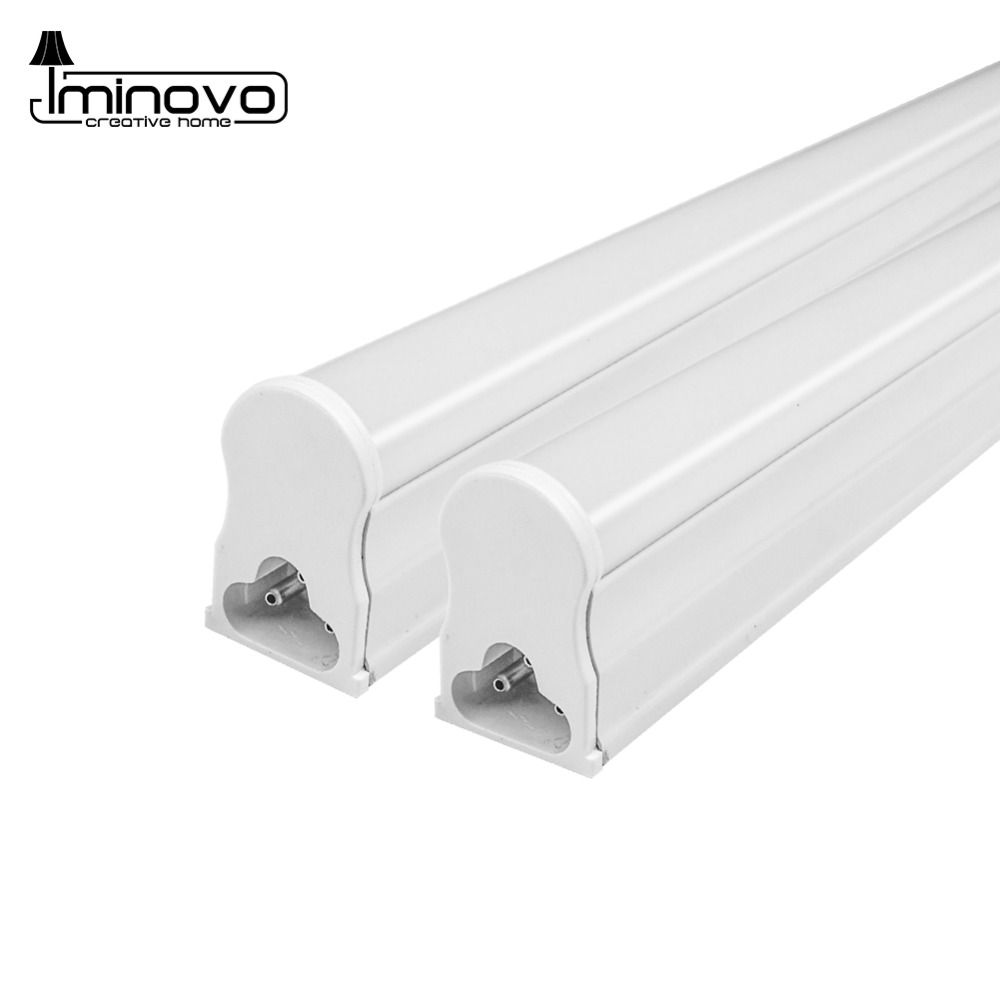 10 Packs LED T5 Tube Fluorescent Integrated Light T8 Bulb 30CM 60CM 1FT 2FTs Wall Lamp Cold White 110V 220V 240V 6W 10W rayway led tube t5 lights bulbac 85 265v 30cm 5w 1ft leds fluorescent lamp led wall lamps bulbs light pvc plastic 5pcs