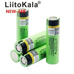 Image 5 - 2PCS LiitoKala חדש מקורי NCR18650B 34B 3.7V 18650 3400mAh נטענת ליתיום סוללה פנס בת