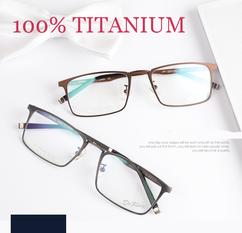 titanium eyeglasses fashion brand designer eyeglasses frame masculino men vintage spectacle frames prescription glasses online - Eyeglass Frames Online