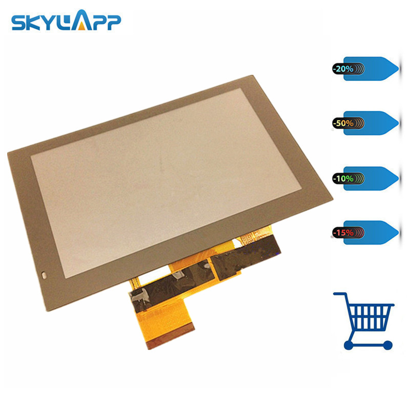 Skylarpu 5 inch ZD050NA-05E for GARMIN DriveSmart 50 LMT-D GPS Navigation LCD display screen with touch screen digitizer panel garmin навигационный приемник drive 50 rus lmt gps 010 01532 45