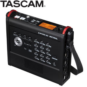 TASCAM Multi-Channel-Recorder Digital Portable with 6-Mic/line Inputs And for Film DR-680MKII