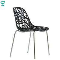 95288 Barneo N-225 Kunststoff Küche Innen Hocker Stuhl für eine Straße Cafe Stuhl Küche Möbel Schwarz kostenloser versand in Russland