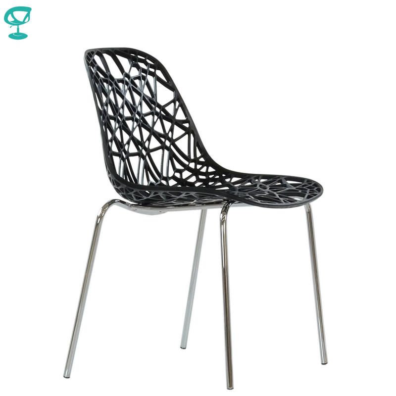 95288 Barneo N-225 Plastic Kitchen Interior Stool Chair For A Street Cafe Chair Kitchen Furniture Black Free Shipping In Russia