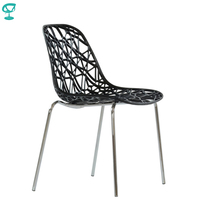 95288 Barneo N 225 Plastic Kitchen Interior Stool Chair for a Street Cafe Chair Kitchen Furniture Black free shipping in Russia
