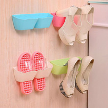 5 pcs Creative shoe shelf wall rack shoe hanger organizer space-saving shoe racks storage box