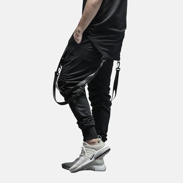 HEYGUYS 2018 New Dry Men's Pants pocket Full Length Men HIPHOP joggers Pants Plus Size Trousers  men belt women streetwear 29