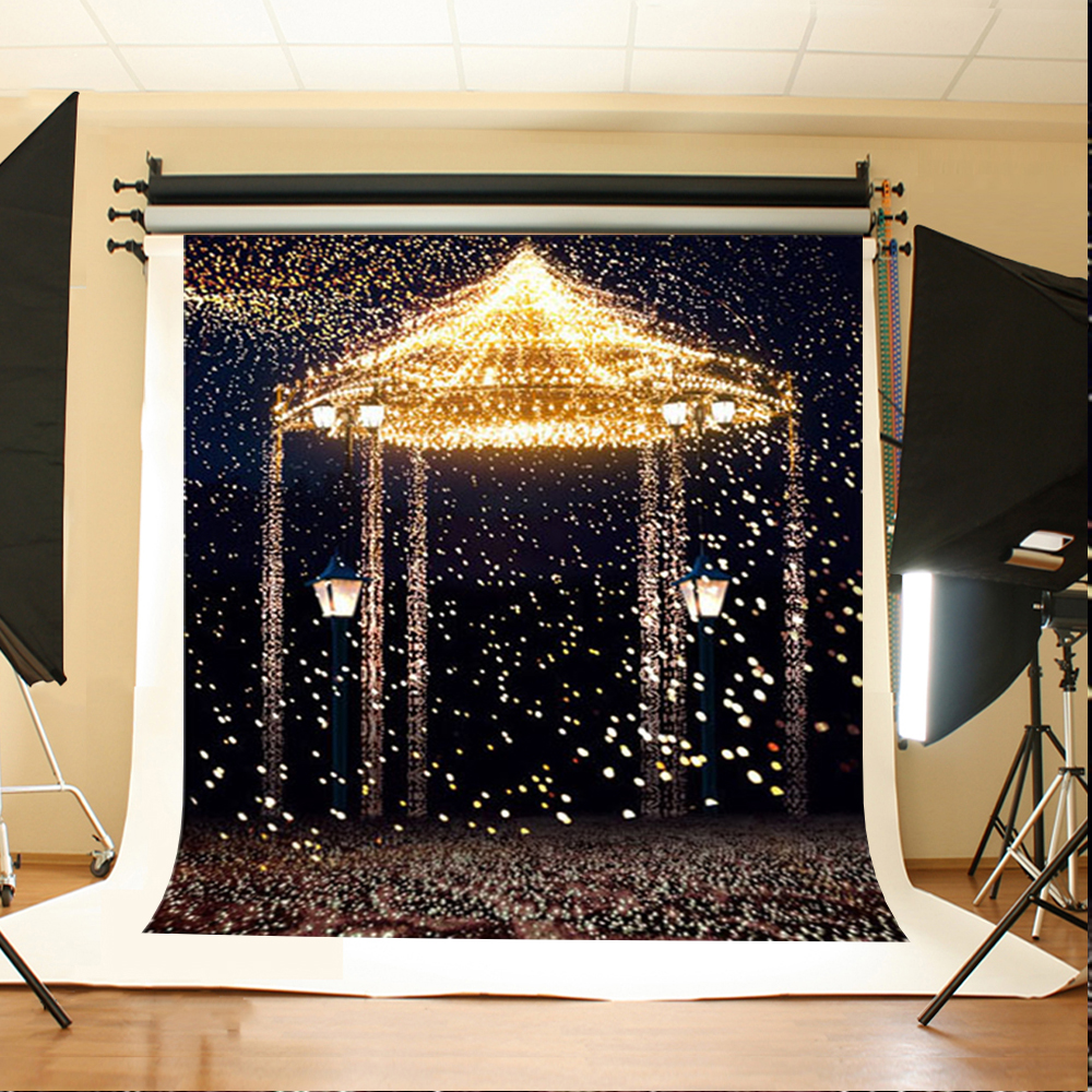 Wedding Photography Backdrops Sparkling Highlights Birthday Background Scattered Petals Backdrops for Photographic Studio 300 200cm 10ft 6 5ft photography backdrops scattered horse petal branch