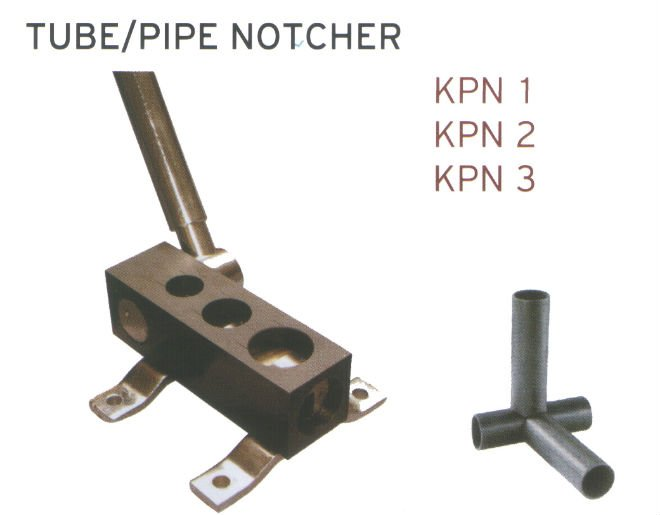 KPN-I tube/pipe notcher machinery tube cutting machine tools