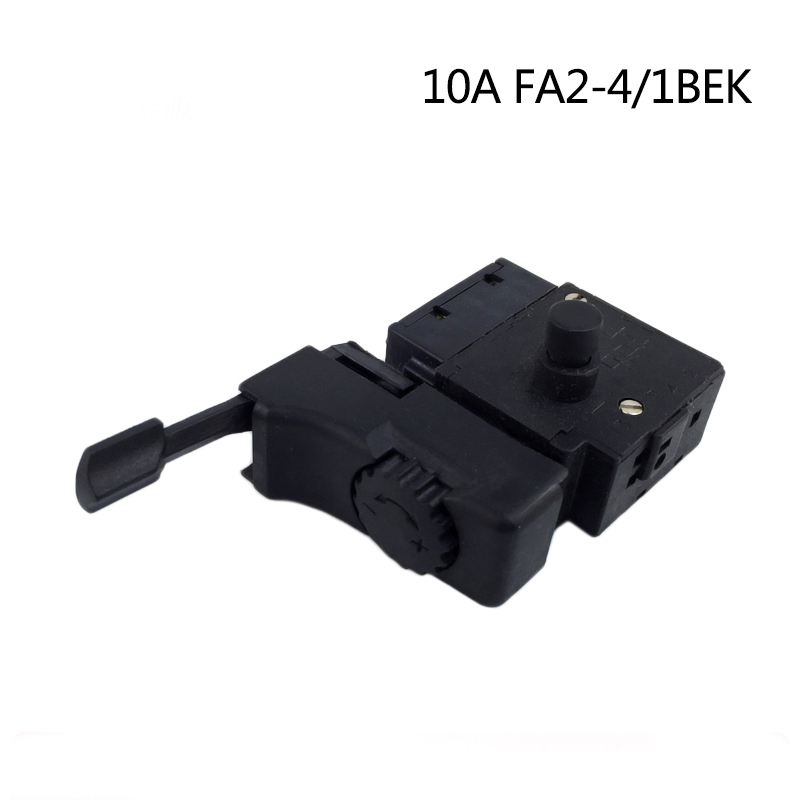 Electric hammer Drill Speed Control Switch with forward and reversal for 10A FA2-4/1BEK,Power Tool Accessories free shipping electric hammer drill speed control switch for bosch gbh20 24 gst85pbe power tool accessories