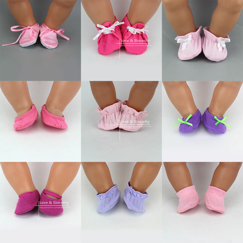 New Arrival Soft Shoes Fit For 43cm Baby Doll