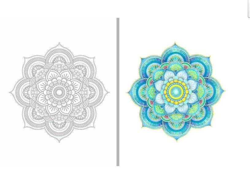 Inspiration ZEN 50 Mandalas Anti stress (volume 3), coloring books ...